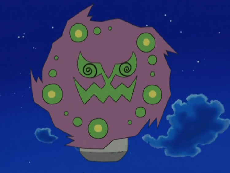 Spiritomb from Pokemon anime