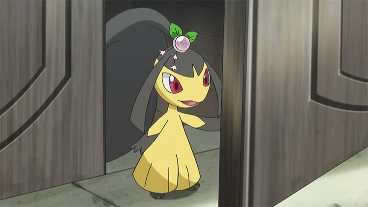 Mawile Pokemon in the anime