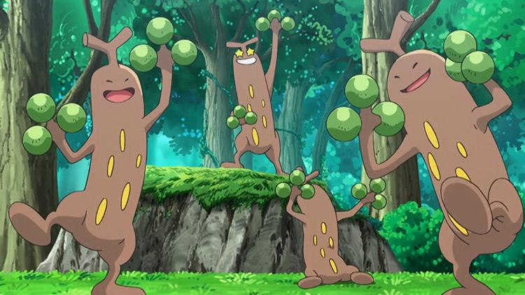 Sudowoodo from Pokemon anime