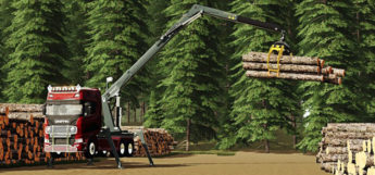 NMC Timber Loader Mod for FS19
