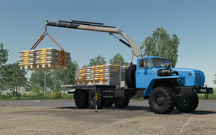 URAL 4320-60 Loader Trucks - FS19