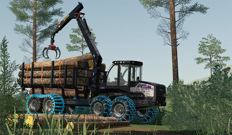Logset 10F GT Mod for FS19