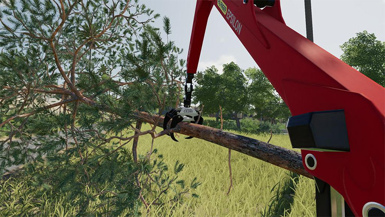 Palfinger Forest Shield Crane for FS19