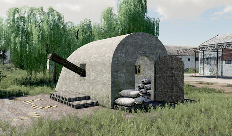 Potato Cellar FS19 Mod