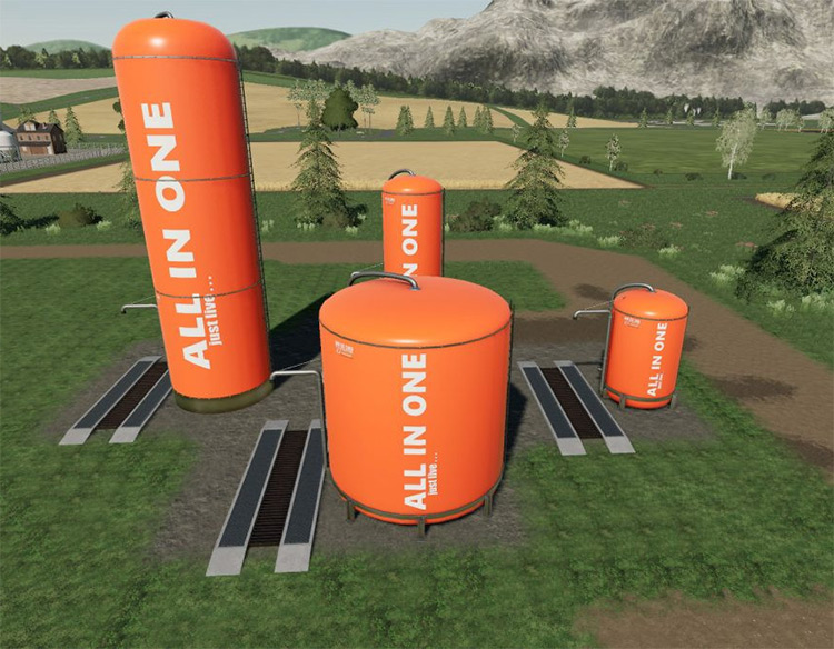 All-in-One Silo System Pack - FS19 Mod