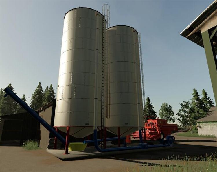 Silo For Crops - FS19 Mod