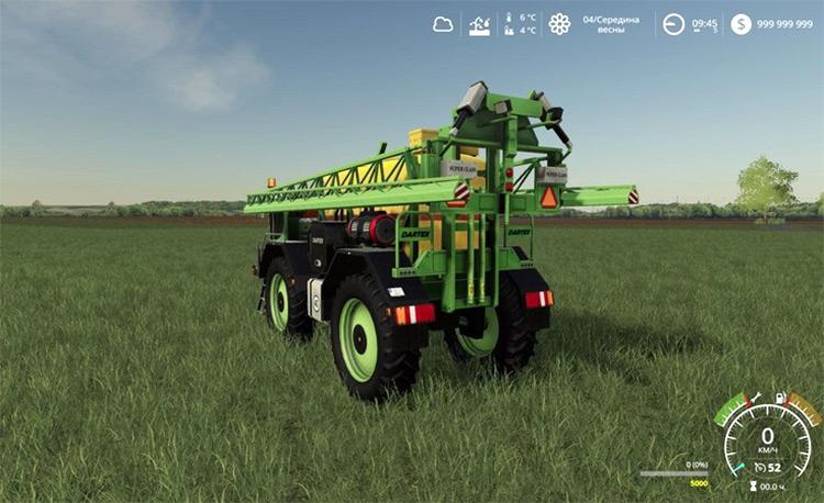 Lizard Self Propelled Sprayer fertilizer for FS19