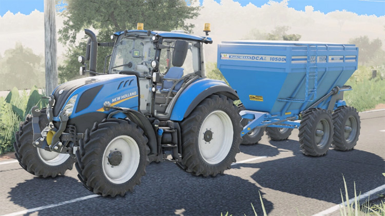 Lizard Marchesan DCA2MC trailer-style fertilizer