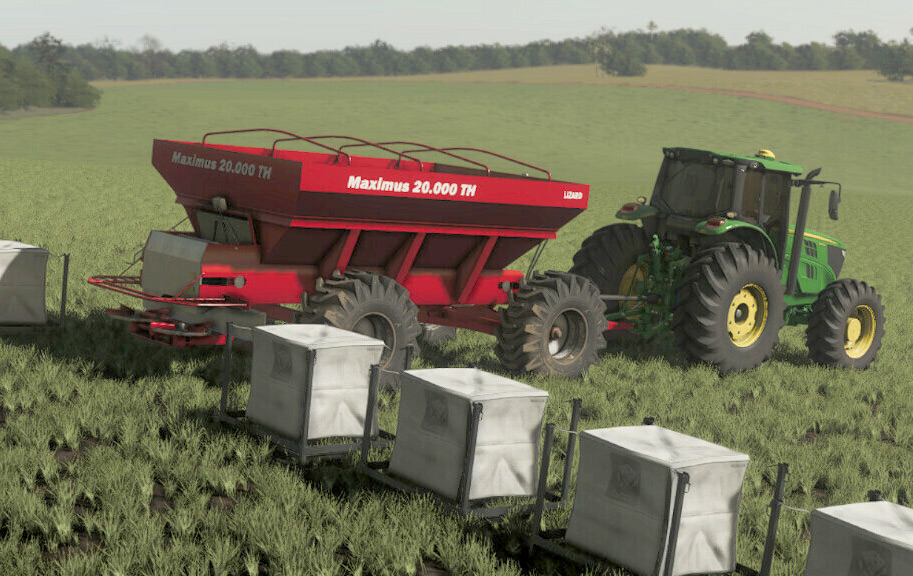 Lizard Maximus 20000TH fertilizer spreader