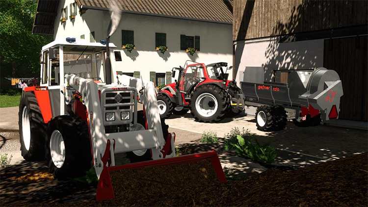 Hauer Frontloaders Pack for FS19