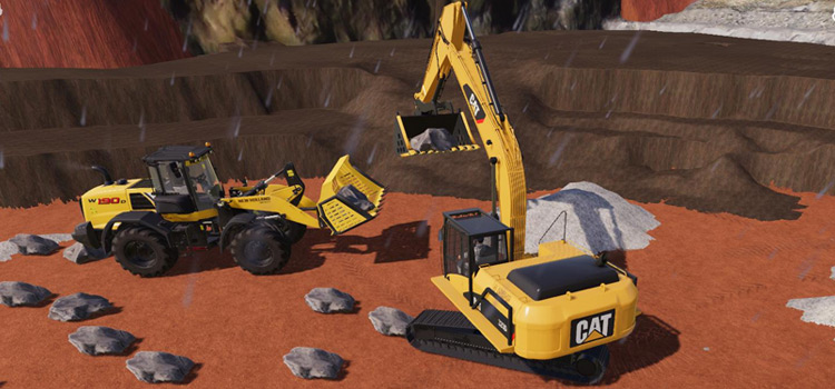 FS19 Mining Construction mod preview