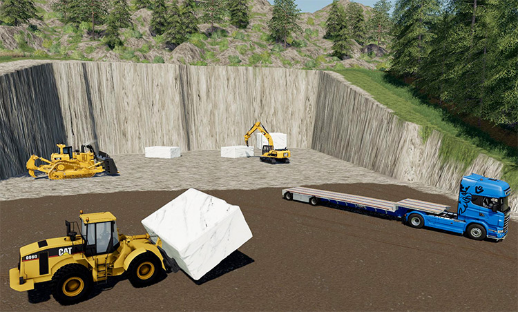 Marble Mine Pack for FS19