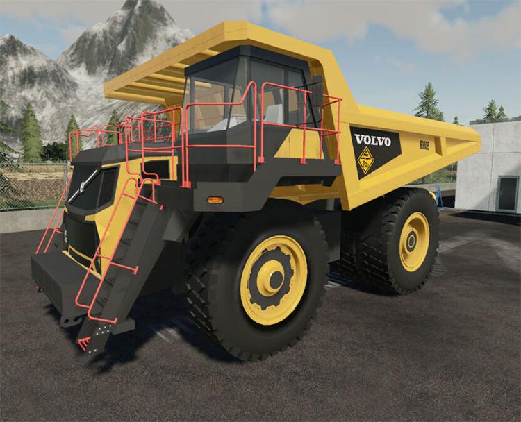 Volvo R100E Mining Truck for FS19