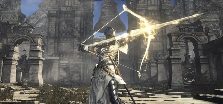 Female Lothric Knight Infused Lightning - DS3