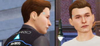 Connor D:BH Character in TS4