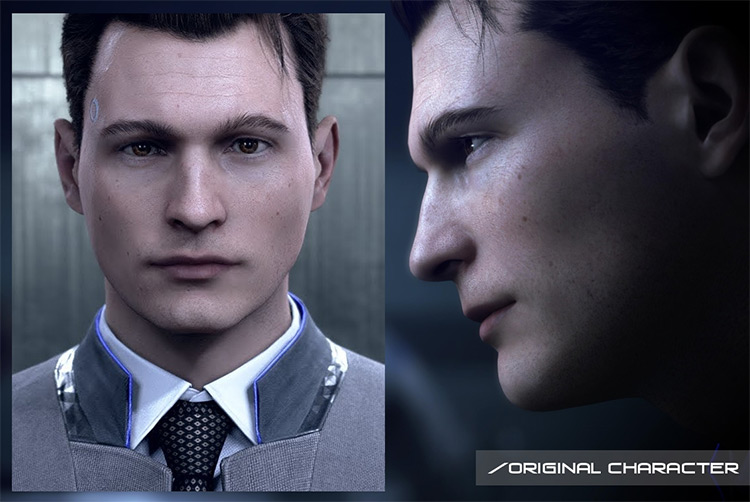 RK800 Connor Character Set for Sims 4
