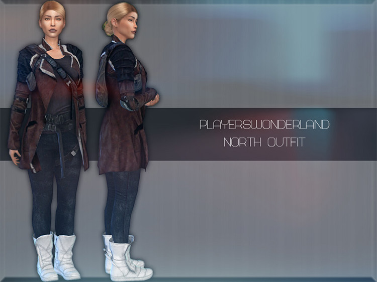 North Outfit Sims 4 CC