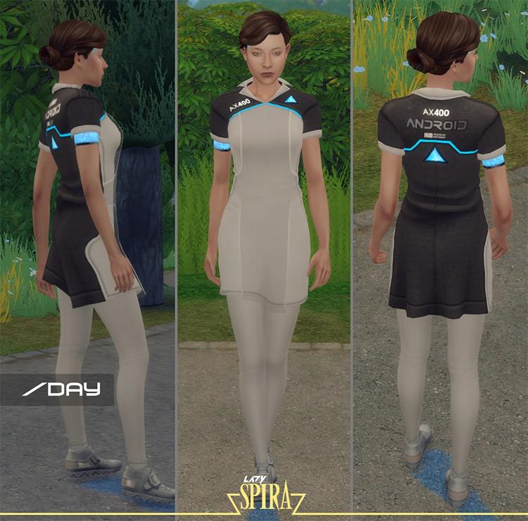 AX400 (Kara) Uniform for Sims 4