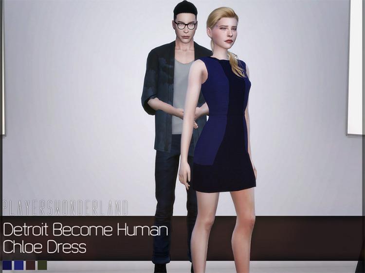 Chloe's Dress for Sims 4