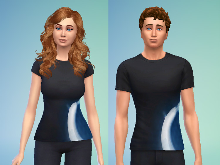 Detroit: Become Human T-Shirts Sims 4 CC