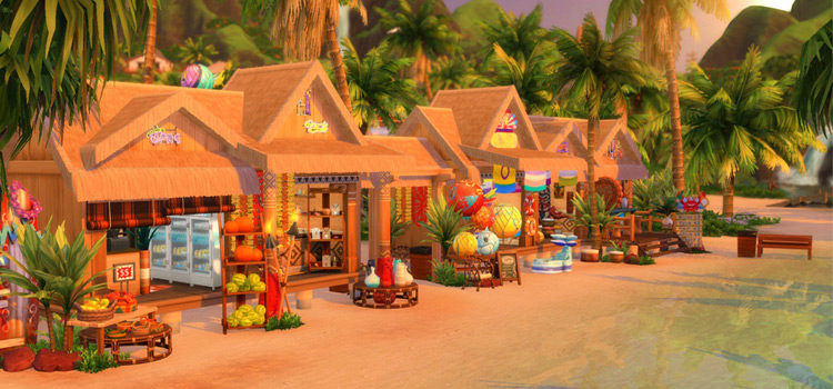 Sims 4 Beach CC: Clothes, Towels, Decor & More