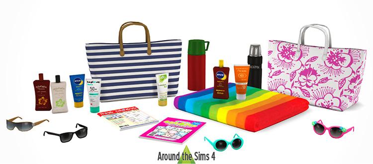 Big Beach Clutter TS4 CC