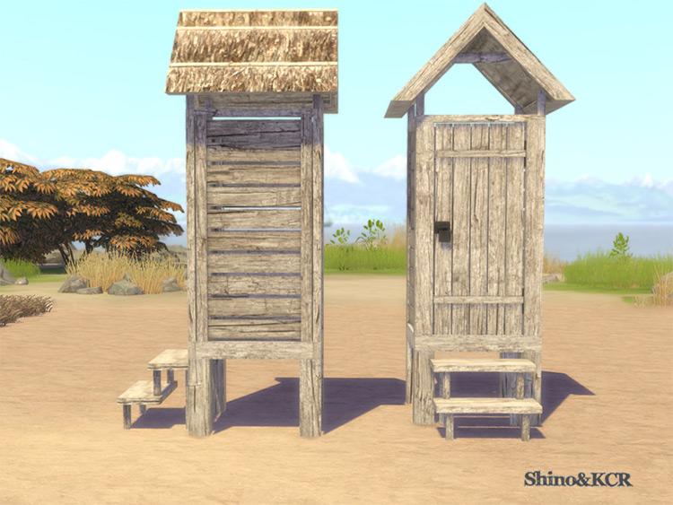 Beach Hut for Sims 4