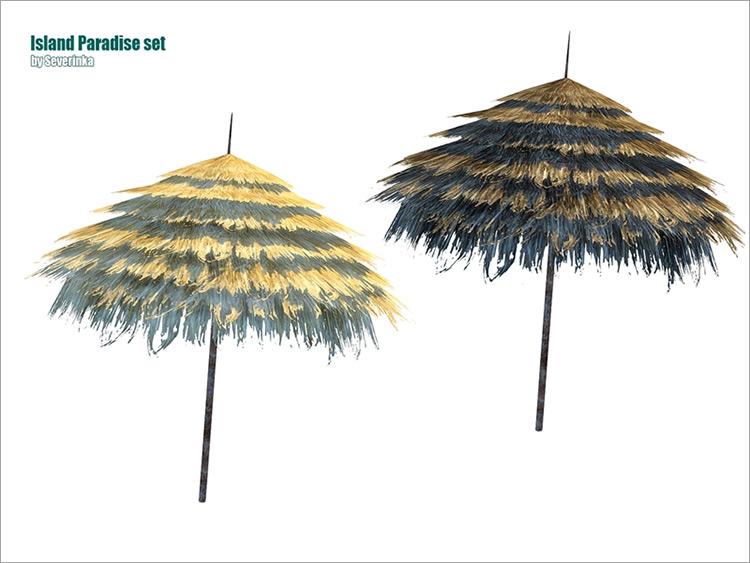 Beach Umbrella Slanted TS4 CC