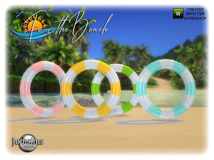 Beach Buoy Sims 4 CC