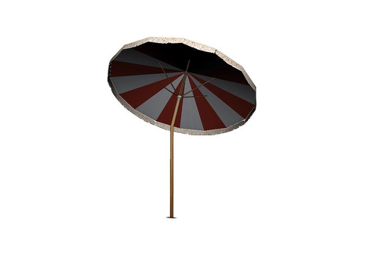 Vintage Beach Parasol TS4 CC
