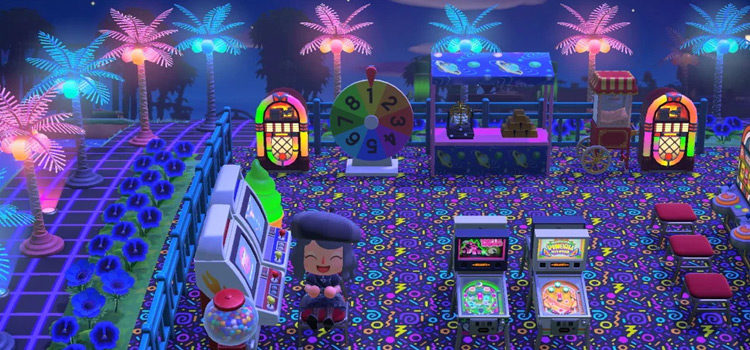 15 Game Room & Casino Ideas For Animal Crossing: New Horizons