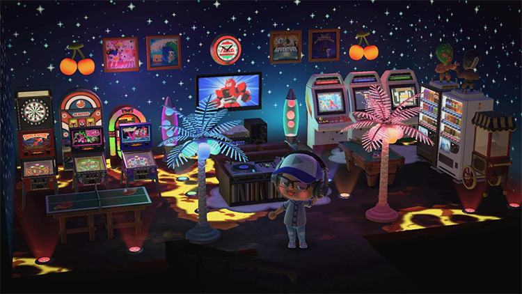 Ultimate Home Arcade Room Design - ACNH