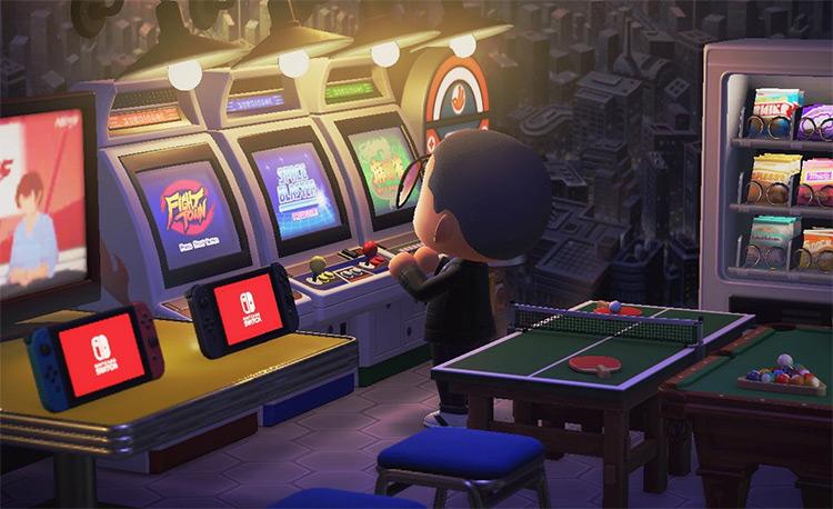 Casino Home Arcade Room - ACNH Idea