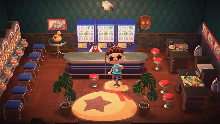 Underground Casino Room in ACNH