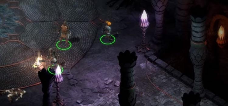 PoE1 HD Gameplay Dungeon Screenshot