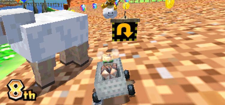 Mario Kart 7 PewDiePie Mod