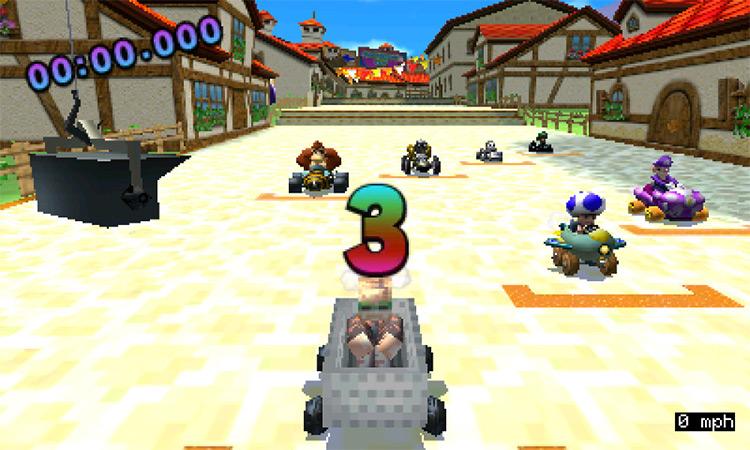 PewDiePie Mod for Mario Kart 7