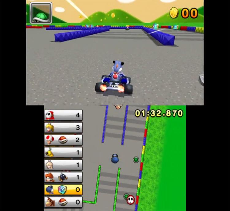 Boshi Mod for Mario Kart 7