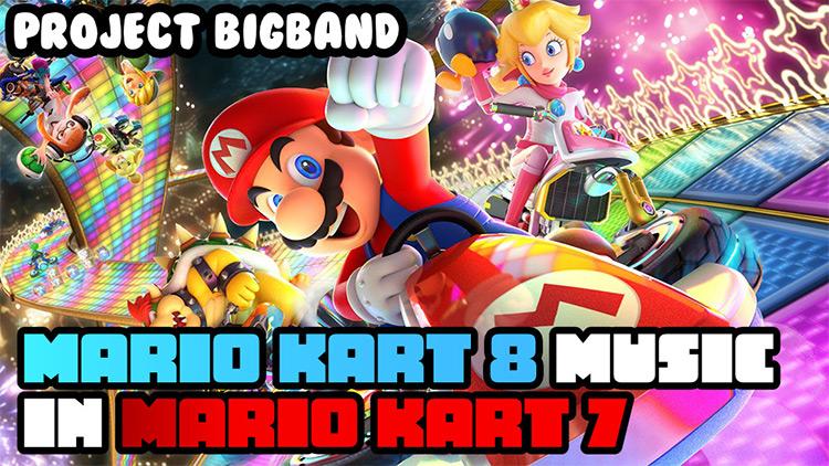 Mario Kart 8 Music in MK7 Mod screenshot