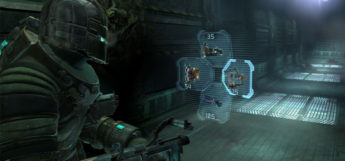 Dead Space PS3 Gameplay screen