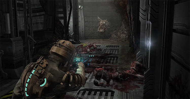 Dead Space (2008) gameplay