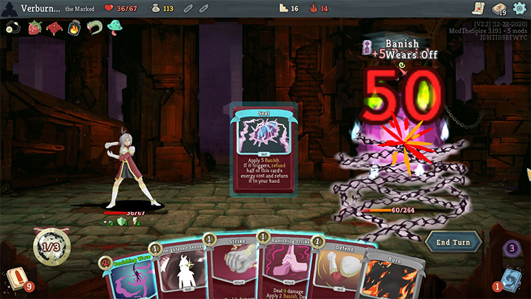 The Marked Slay The Spire Mod
