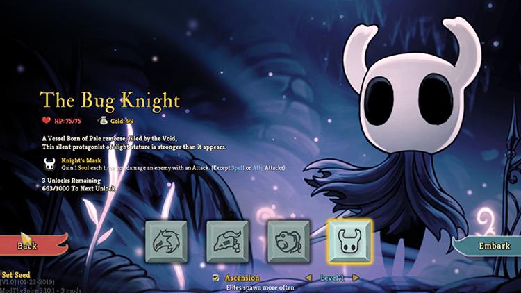 The Bug Knight Slay The Spire Mod