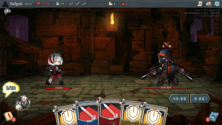 Arknights Slay The Spire Mod screenshot