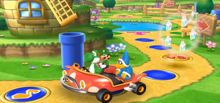 Mario Party 9 Multiplayer Screenshot on Wii