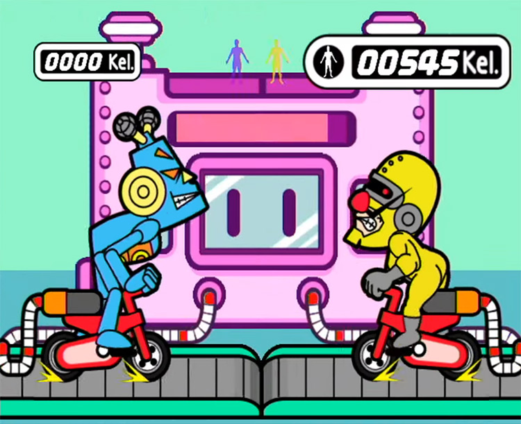 Warioware: Smooth Moves Wii gameplay