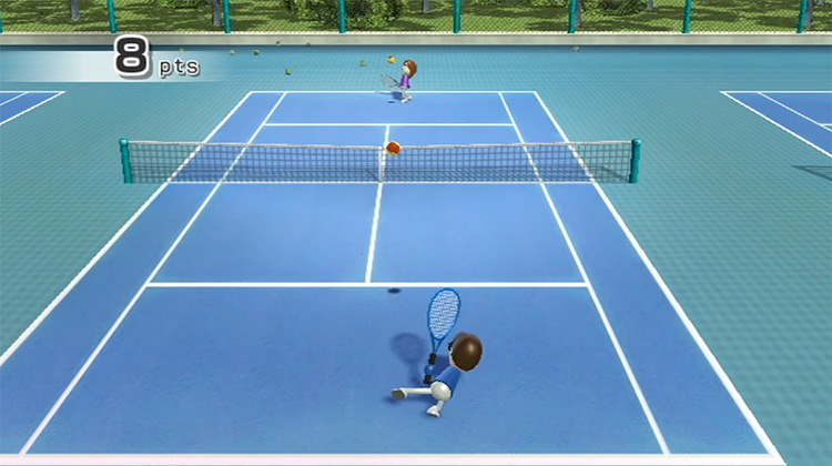Wii Sports game screenshot