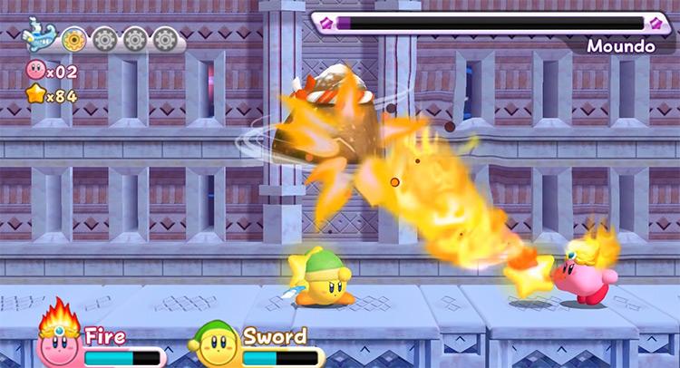 Kirby's Return to Dreamland screenshot