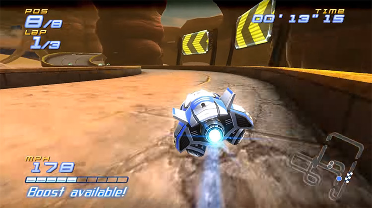 FAST Racing League Wii gameplay