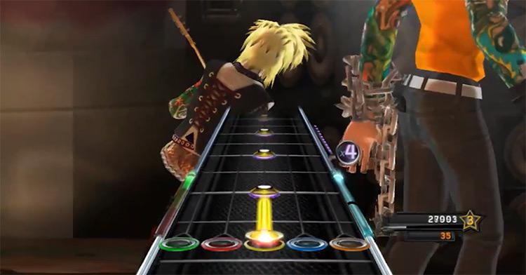 Guitar Hero 5 in Nintendo Wii